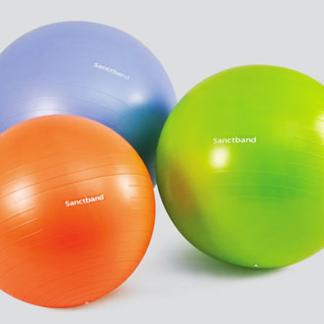 Ballons et coussins d'équilibre